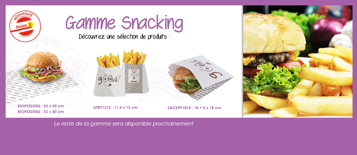 gamme snacking