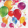 Serviettes papier Party Baloons / 33 x 33 cm