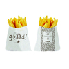 Sachet frites ingraissable / 11,5 x 12 cm